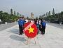 Lễ dâng hoa, dâng hương tri ân các anh hùng liệt sĩ nhân ngày 27/7 tại nghĩa trang liệt sĩ Thành phố