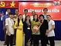 Lễ kết nạp đảng viên mới của chi bộ trường TC Đại Việt TP HCM