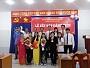 Lễ kết nạp đảng viên mới của chi bộ trường TC ĐV TP HCM