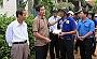 Lãnh đạo tỉnh Phú Yên đến thăm và tặng quà cho các chiến sĩ tình nguyện của Trường CĐ Đại Việt Sài Gòn
